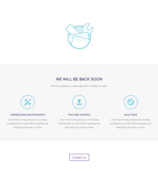 diseño página web mantenimiento
