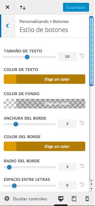 personalizar botón añadir al carro