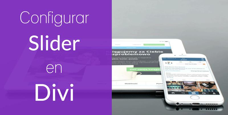 Configurar el módulo Slider de ancho completo en Divi