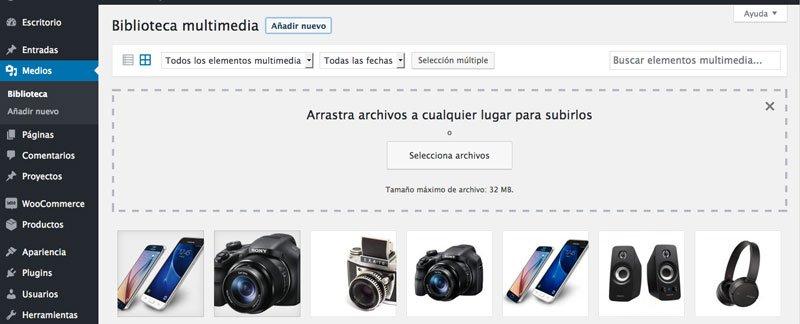 imágenes cabecera web