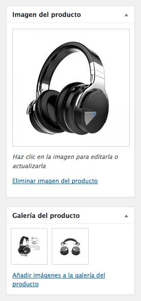 imágenes productos tienda online