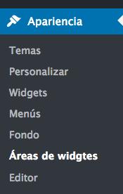 web varios sidebars