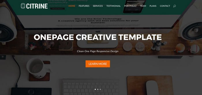crear página inicio con divi