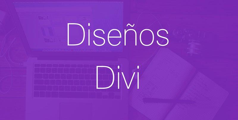 diseños divi crear web empresa