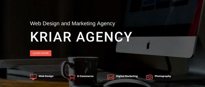 ejemplo web agencia online