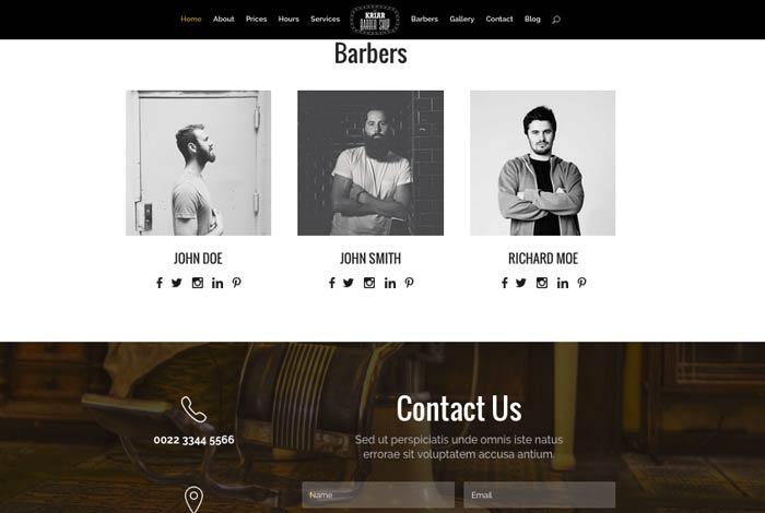 ejemplo web de empresa