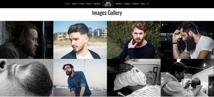 galería imágenes página inicio
