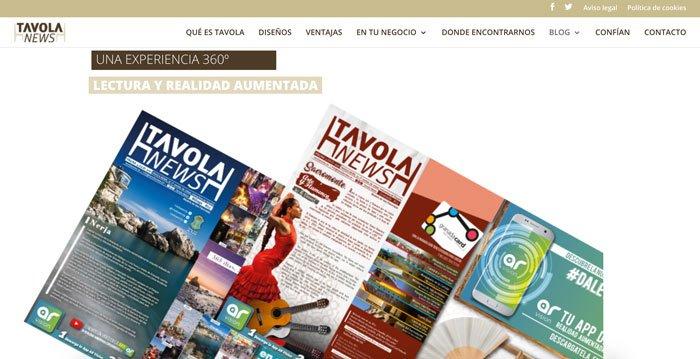 ejemplo de diseño web sencillo con plantilla divi