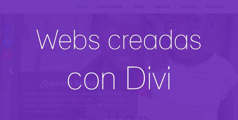 12 Ejemplos de webs en castellano hechas con el tema Divi