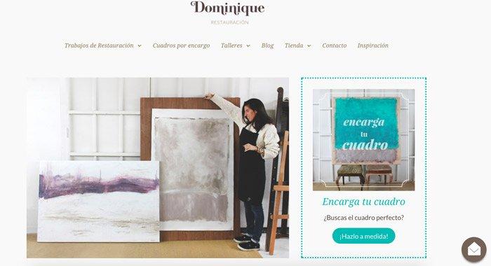 web catálogo divi