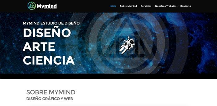 web profesional diseñada con divi