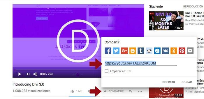 Insertar un vídeo en tu web con Divi - Todo lo que debes saber