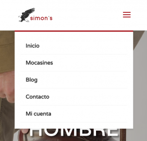 Menu Divi Movil